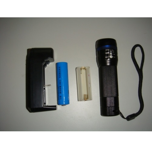 防水強光LED手電筒
