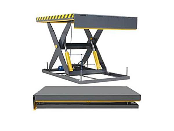 電動升降台 油壓升降平台 剪式升降台 油壓昇降平台 油壓升降機 用於垂直卸載任何物品,分為固定式及移動式的,配合客戶需求來為您選擇適合的機型,其主結構由剪刀型設計的型鋼焊接而成,上下檯面與堅固的支撐臂形成一體,升降平台的堅固性、負載能力能有效的承載任何物品的重量,油壓升降平台 剪式升降台 油壓昇降平台 油壓升降機表面以RAL7016聚氨酯塗料做為防銹面漆,確保油壓升降平台的耐用性,是卸貨區使用的碼頭設備。 油壓升降平台 剪式升降台 油壓昇降平台 油壓升降機規格: