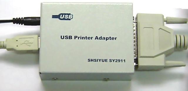 并口转usb打印机适配器