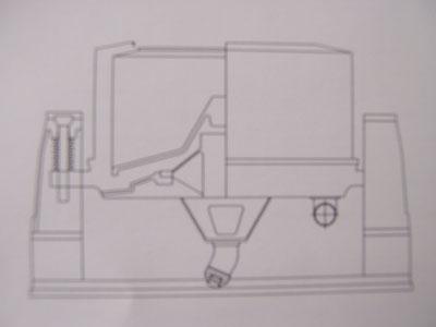 油壓系統驅動式脫水離心機