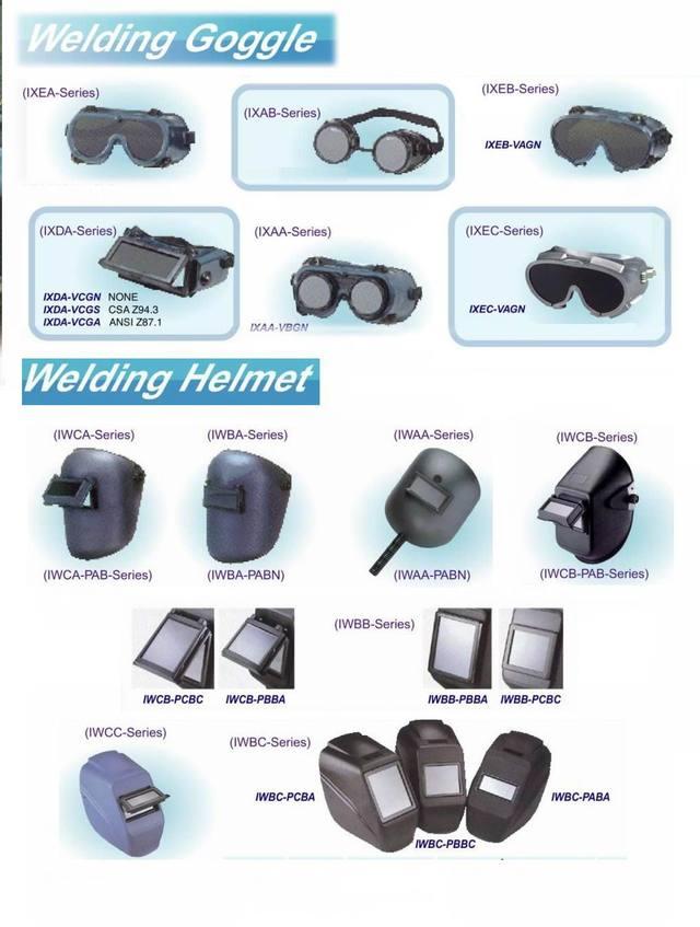 焊接安全护目镜&头盔防护罩
