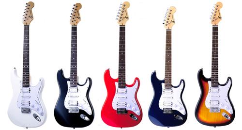 集乐城乐器★jyc-10g 电吉他~双单双