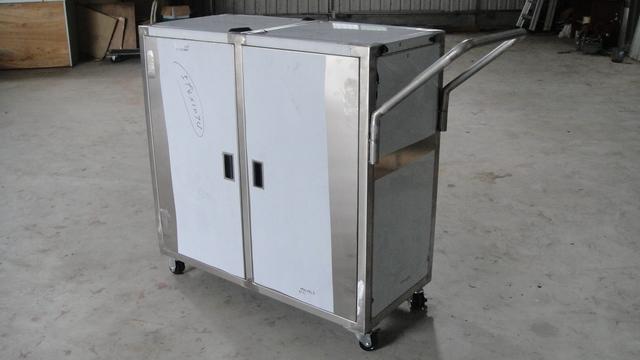 各式不锈钢箱体推车设计制作