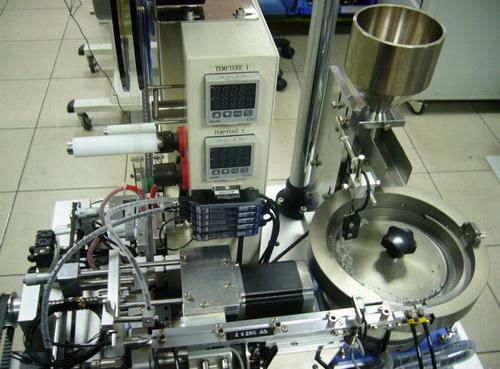 载带黏合拉力测试机 电子元件特性测试机 smt自动化设备展示区 精密治