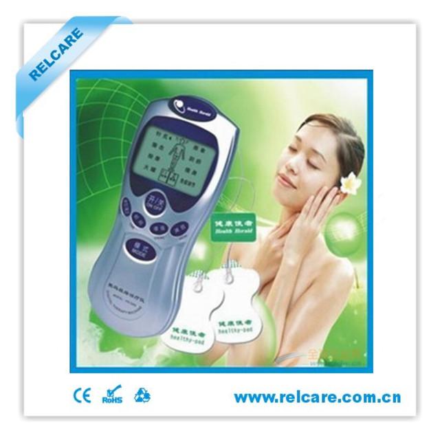 数码经络治疗仪是根据物理学,仿生学,生物电学,传统中医经络学原理