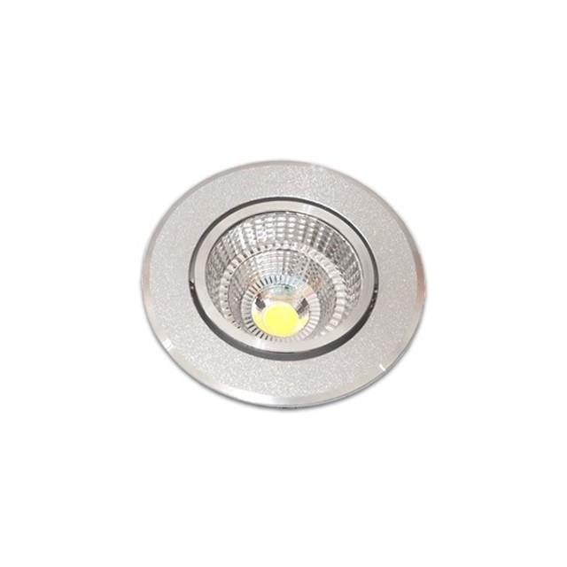 5W 2.5吋 COB LED投射崁燈 7cm嵌入孔,燈頭可調整角度
