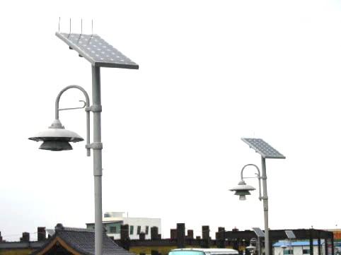 太阳能led路灯 产品图展示