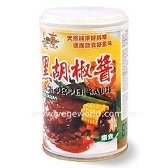 自然緣素黑胡椒醬 產品圖展示