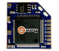 Wiikey 2 晶片- 韌體可更新,跳線5~6線 ,對應全部Wii機型-DIY改機最適合 產品圖展示