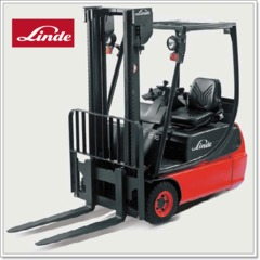 Linde<br>電動堆高機、堆高機