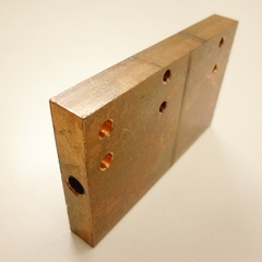 CNC車床加工 銅製品