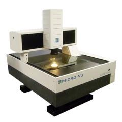 三次元 影像量測儀(自動機種) MicroVu 非接觸式