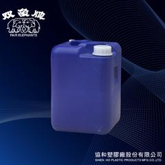 20公升四角桶(藍色)