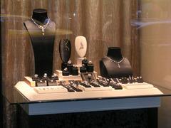 珠寶櫥窗設計 產品圖展示