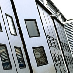 工業摺疊門<Industrial folding doors>