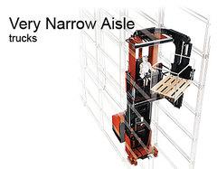 窄巷道電動堆高機<Narrow aisle electric forklift>