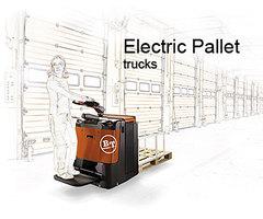 電動拖板車<Electric pallet truck>