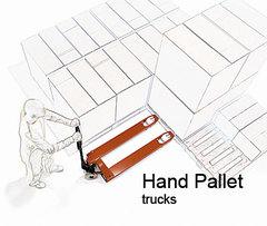 油壓拖板車<Hydraulic pallet truck>