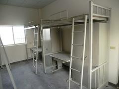 宿舍單人上鋪鐵角床