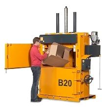 Bramidan B20 - 人氣型直立壓縮打包機
