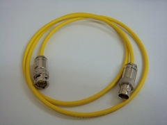 Triaxial(公) to Triaxial(母) cable