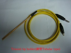 Triaxial tip holder(銅管Tubular type)探針桿