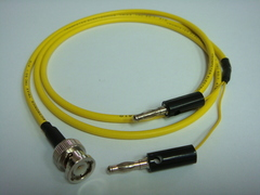 Triaxial BNC(公) to Banana(2公)-Cable