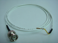 Coaxial(公) to 杜邦端子(母signal)-Cable
