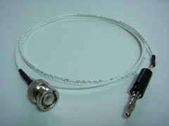 Coaxial(公) to Banana(公)-Cable
