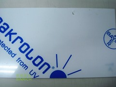 PC板-進口拜耳模克隆 MAKROLON®UV 耐候級 產品圖展示