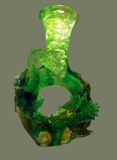 琉璃工艺品 琉璃花瓶 琉璃装饰品 琉璃摆件 產品圖展示