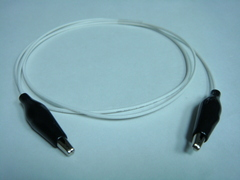 Coaxial(鱷魚夾) to (鱷魚夾)-Cable