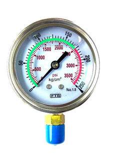自設警戒充油式壓力計, 雙面式壓力計, 雙面式數位壓力計, 壓力表