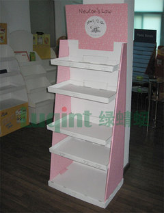 纸展示架,陈列架,柜台 產品圖展示