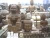 古,近,现代石雕佛像,门墩,狮子,神&