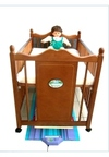 本型可搭配嬰兒床、嬰兒手推車、餐搖椅、彈搖椅、折疊涼床等轉換為一台全自動嬰兒搖籃。