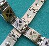 米字型滴胶纯钛锗手链