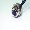 防水接頭線材  連接器M8母 ( 板端 )