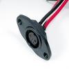 <font color=#FF0033>防水接頭</font>線材  連接器M17母( 板端焊線式) SLIDEN