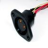 防水接頭線材  連接器M24母 ( 板焊線 ) SLIDEN