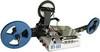 M-600高精密滾珠螺桿同步平行調整軌道寬度,不須使用工具10秒內快速調整完成載帶包裝機