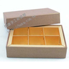 手工紙盒 巧克力盒 設計 印刷 製作.內隔板:霧金箔6入內格板