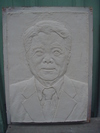 客製化-銅浮雕人像(中華大學退休教授)