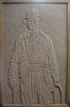 銅浮雕-哈里遜.福特Harrison Ford
