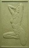 銅浮雕-裸