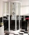 淋浴拉門 - 圓弧有框淋浴拉門