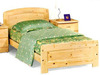 松木單層床