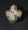 鑿壁機噴水鑽頭,材質:高錳鋼 ( 抵抗強沖擊,大壓力磨損 )