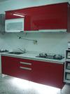 廚具工廠直營全新水晶門板流理台廚具(含櫻花三機)裝到好只要40000元起誠實保證絕對不亂加價!