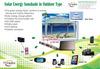 戶外型多功能行動電源-太陽能遮陽棚